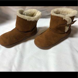 Girls warm booties